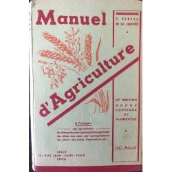 Manuel d'agriculture