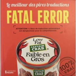 Fatal error - le meilleur...
