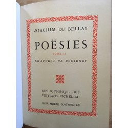 Joachim Du Bellay - Poësies...