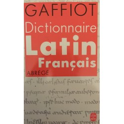 Gaffiot - Dictionnaire...