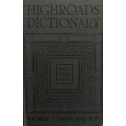 """Highroads"" dictionary"