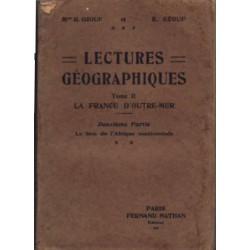 Lectures géographiques