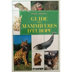 Guide des mammifères d'Europe
