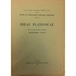 Ideae platonicae - Edidit...