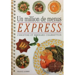 Un million de menus express