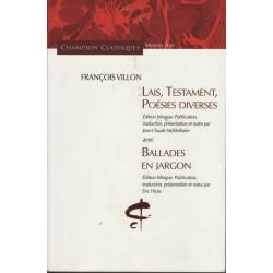 Lais, Testament, Poésies...