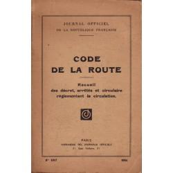 Code de la route 1954