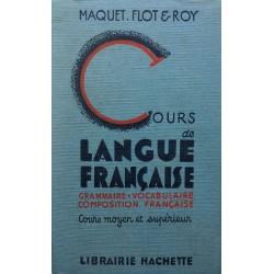 Cours de langue française